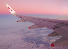 Coming Home (Antnio A. Huergo de Carvalho) Tags: world pink sky high wings aviation wing rosa cu airbus asa avio winglet mundo aviao voar a320 voo asas airbusa320 avianca prony aviaocomercial sharklet