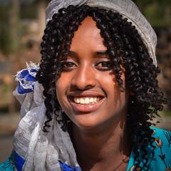 Adigrat Girl (Rod Waddington) Tags: africa african afrika afrique ethiopia ethiopian ethnic etiopia ethnicity ethiopie etiopian thiopien tigray adigrat young woman female hair portrait smile ashenda festival orthodox face