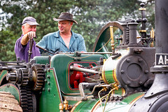 Traction engine drivers (Nigel Blake, 13 MILLION...Yay! Many thanks!) Tags: steam traction engine rally weeting suffolk nigelblakephotography nigelblake nigel
