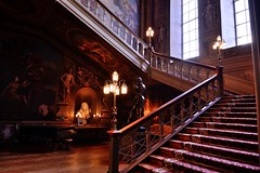 A grand staircase? (smcnally24601) Tags: petworth house sussex england britain summer stately home park