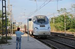Habemus enclavamiento (Trenesmania) Tags: barcelona trenes railway trains alicante rodalies tarragona ferrocarril renfe viajeros alacant jefedeestacin euromed estacidefrana montroigdelcamp bandern r16 alvia s130