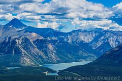 Lake Minnewanka (AncasterZ) Tags: mountain lake rockies banff rockymountains lakeminnewanka canadianrockies sal75300