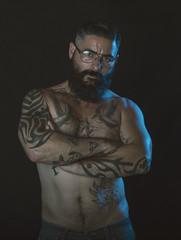 Sel-portrait (jcalveraphotography) Tags: selfportrait selfie selfiebeard serie myself portrait beardlife beard bearded