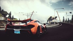 Soldier [Explored on 14/08/2016] (polyneutron) Tags: car photography mclaren p1 orange supercar racer needforspeed nfs rivals pc videogame photomode depthoffield dark clouds