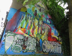 Art on a wall (Toronto) (France-) Tags: 782 murale mural toronto ontario canada art graffiti