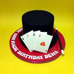 Fondant 3D Magician Hat (Cakedeliver.com Malaysia Cake House) Tags: cakeshop kualalumpur selangor johorbahru 3dcake birthdaycake klangcake themedcakes kidscake melaka tieredcake noveltycake partycakes penangcakes ipoh nusajaya puchong sripetalingcakestore figurinecake cartoon cake