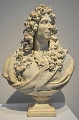 """Lens (Pas-de-Calais) - Muse du Louvre-Lens - """"Portrait prsum de Charles Le Brun"""" (Coysevox, 1686) (Morio60) Tags: lens louvrelens pasdecalais 62 muse coysevox"""