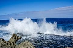The Blowhole on Tongatafu, Tonga (firstfire53) Tags: southpacific tonga kingdomoftonga ocean waves breakers blowhole