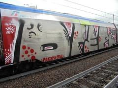 094 (en-ri) Tags: drer fratema fritz argento nero rosso train torino graffiti writing wholecar endtoend toptobottom