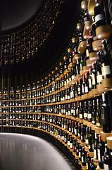 La cave (H..L) Tags: cave bordeaux cité vin aquitaine sudouest france bouteilles lumière chais nikon d7000 livolsi