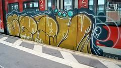Graffiti (Honig&Teer) Tags: graffiti honigteer hannover spraycanart sport railroad railways eisenbahngraffiti eisenbahn train treno traingraffiti trainart vandalismus sbahn db dbregio deutschebahn