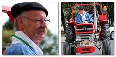 Un tracteur massey Ferguson 135 super... dans Paris (mamnic47 - Over 6 millions views.Thks!) Tags: paris traversedeparis voituresanciennes voitures 31072016 9metraversedeparisestivale img6399m tracteur paysan masseyferguson portrait masseyferguson135super l