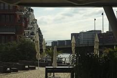 Jachthafen :: Westhafen Frankfurt, Marina (tmertens0) Tags: westhafen frankfurt hessen germany harbour city sunset sonnenuntergang jupiter 9 silver