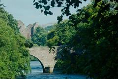 Doune Castle & Bridge (alanGmedia) Tags: scotland river landscape scenery history doune deanston montypython grail
