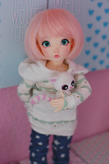 Anemone  (Lunelle) Tags: fairyland littlefee ltf bjd ball jointed doll modded mod mio