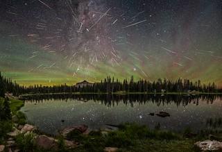Moosehorn Lake Perseid Meteor Shower