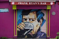 Alley mural (tpatt83) Tags: dublin ireland pub beer alley paint art graffiti mural door emerald isle pint glass