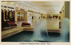 Northpark Shopping Center, Dallas, Texas (SwellMap) Tags: postcard vintage retro pc chrome 50s 60s sixties fifties roadside midcentury populuxe atomicage nostalgia americana advertising coldwar suburbia consumer babyboomer kitsch spaceage design style googie architecture mall store plaza