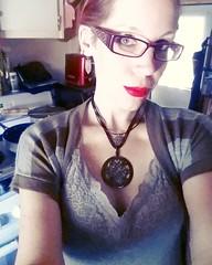 #SelfieSunday Gorgeous harlot-red lipstick is Rimmel & Katy Perry's Kiss of Life  (Jenn ) Tags: ifttt instagram