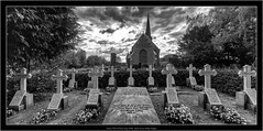 Canon TS-E 4/17mm on Sony A7RII, stitch of two shifted images (Dierk Topp) Tags: a7rii a7rm2 bw canontse417mm ilce7rii ilce7rm2 sonya7rii architecture church churches gravejard sw sony tiltshift ultrawideangle wideangle