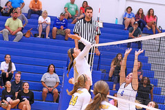 IMG_5508 (SJH Foto) Tags: girls volleyball high school lancaster mennonite pa pennsylvania team tween teen teenager varsity net battle spike block action shot jump midair