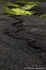 Iceland_2016-2 (simon ruszala) Tags: 2016 iceland laugavegur europe extreme fire ice july land landscape simonruszala snow trail volcanoes pattern green algae bright black