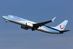 G-TAWF 737-8K5 (Ian Tate) Tags: newcastleinternationalairport ncl egnt gtawf boeing7378k5 thomsonairways 737800 splitscimitarwinglets