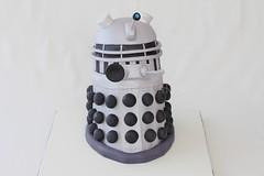 Dalek (Irresistible Cakes) Tags: birthday men cake 40th robot drwho dalek 30th 50th exterminate fondant
