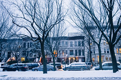 Snow storm in New York (Premshree Pillai) Tags: nyc newyorkcity winter snow ny newyork brooklyn snowstorm queens winter2014