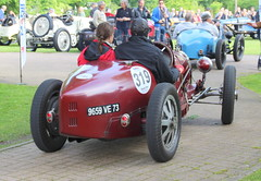 20140501 Brignais Rhne - 100 ans du GP de Lyon - Bugatti 35B -(1928)-001 (anhndee) Tags: france frankreich rhne rhonealpes brignais