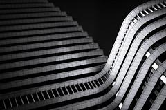DUO II (dirkjandb) Tags: bw architecture duo nederland groningen architectuur unstudio benvanberkel 2011 belastingdienst