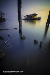 here i belong (Rafie Rosli Putra) Tags: longexposure bridge photography ship sunsets fav wreck hdr singleraw rafierosliputra johorstudio
