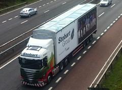 H8382 - PX64 TXG (Cammies Transport Photography) Tags: truck energy tanya lorry louise eddie flyover scania renewable esl a90 inverkeithing hillfield txg stobart eddiestobart r450 px64 h8382 px64txg