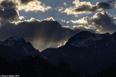God-light Rising (walkerross42) Tags: california light sunset mountains rays sierranevada godlight alabamahills