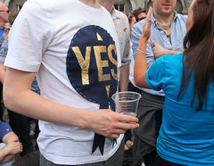 Yes: Marriage Referendum: In The Upper Yard, Dublin Castle (Skyroad) Tags: