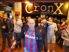 Crystal Palace FC Beer Festival (2015) (Paul-M-Wright) Tags: park london beer festival 30 football crystal may saturday palace brewery fans fc supporters 2015 cpfc selhurst cronx