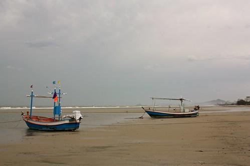 Hua Hin fishermen