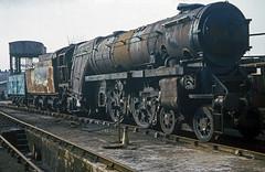 35005 at Steamtown, Carnforth. 25th March 1978 (Brit 70013 fan) Tags: pacific canadian steam lancashire barry steamengine steamtown southernrailway carnforth merchantnavy britishrailways woodham 35005 exsr exbr