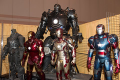 Iron Men (edwick) Tags: ironman marvel comiccon ironmonger warmachine acbc ironpatriot atlanticcityboardwalkcon acbc2015 atlanticcityboardwalkcon2015