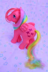 walk on by (Vuffy VonHoof) Tags: girls boy horse cute boys girl vintage toy toys photography doll neon dolls little sassy pastel dream retro pony 80s dreamy 1980 1980s 90s