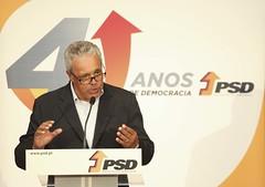 José António Silva na comemoração do aniversário do partido, Distrital de Leiria