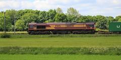 Grassthorpe (GBRf 66702) Tags: diesel loco db 66 class wakefield locomotive nottinghamshire felixstowe dbs notts schenker class66 ews 0936 66030 grassthorpe dbschenker 4l45 4l450936wakefieldfelixstowe