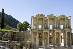 Library of Celsus (CRUSTINA!) Tags: turkey ancient ruin selcuk ephesus libraryofcelsus