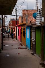 Hogares Obreros (SeorNT) Tags: street urban dog boys colors mexico dangerous marginal slp
