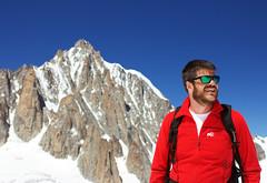 Ste e il Monte Bianco by Manu (Ste Cube) Tags: mountain alpi ste montagna montebianco valdaosta