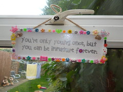 quotation plaques 4.00 plus postage and packaging. (jessicagreen5) Tags: gift bling sparkle rhinestones decoration decoden plaque kawaii quote
