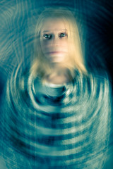 Imaginary self drowning (Marcelo Comazzi) Tags: portrait art fine disturbing