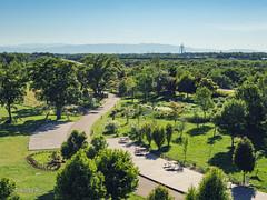 () Tags: green park sky