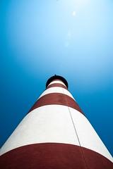 Red striped lighthouse2 (richard binhammer) Tags: assateagueislandnationalseashore easternshore lighthouse va