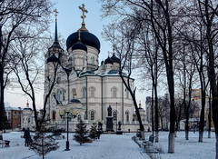 Voronezh 2 (Alexxx1979) Tags: 2016 annunciationcathedral cathedral city january russia voronezh voronezhoblast winter